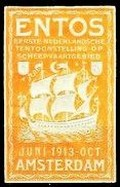 Amsterdam 1913 Entos orange Schiff
