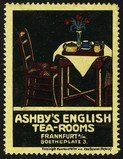 Ashby's English Tea Rooms Frankfurt (Tisch Stuhl)
