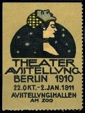 Berlin 1910 Theater Ausstelung Erdt Theater