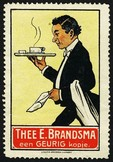 Brandsma Thee (Kellner Tablett rot)