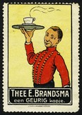Brandsma Thee (Kellner Tablett schwarz)