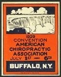 Buffalo 1929 Convention American Chiropractic Association