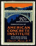 Chicago 1924 Convention American Concrete Institute