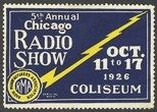 Chicago 1926 5th Annual Radio Show Technik