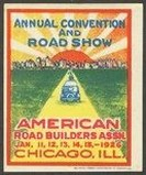 Chicago 1926 Annual Convention and Road Show Auto