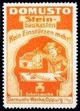 Domusto Steinbaukasten orange