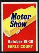 Earl Court Motor Show October 18 - 28 Expo