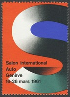 Geneve 1961 Salon International Auto Hauri Expo