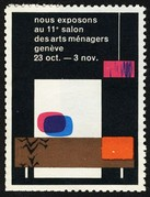 Geneve 1963 11 Salon Arts Menagers
