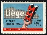 Liege 1951 3eme Foire Internationale