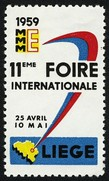 Liege 1959 11 Foire Internationale