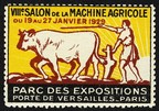 Paris 1929 VIIIe Salon de la Machine Agricole
