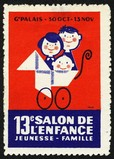 Paris 1962 13e Salon de l'enfance