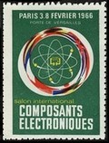 Paris 1966 Salon international Composants Electroniques Technik