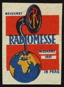 Prag 1927 Radio Messe Technik