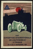 Prague 1927 XIXe Exposition Internationale de l'Automobile Expo