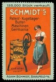 Schmidts Patent Kugellager Butter Maschinen Germania