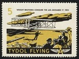 Tydol Flying A Wright Brothers conquer the air December 17 1903