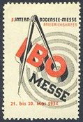 Friedrichshafen 1954 IBO 5 Internationale Bodensee-Messe
